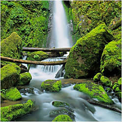 West of the Wind Soda Creek Falls Outdoor Canvas Wall Art - 33759-24