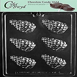 Cybrtrayd Life of the Party C468 Frozen Snowflake Lolly Chocolate Candy Mold in Sealed Protective Poly Bag Imprinted with Copyrighted Cybrtrayd Molding Instructions