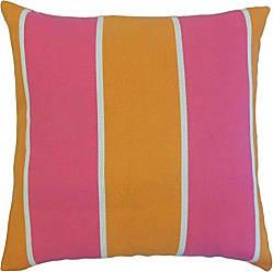 The Pillow Collection Taifa Outdoor Bedding Sham Melon Standard/20 x 26