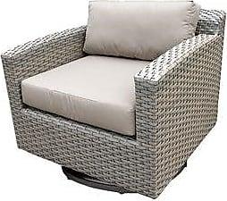 TK Classics Florence Swivel Chair (Beige)