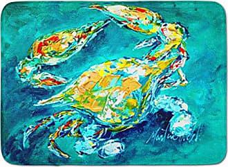 Carolines Treasures Blue Crab Under Water Kitchen or Bath Mat 20x30 20Hx30W Multicolor