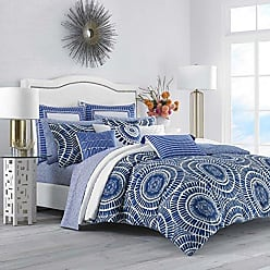 Full//Queen Navy Revman International Eddie Bauer 216693 Kingston Reversible Comforter Set