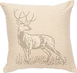 Wooded River Valiant Animal Print Square Indoor Pillow - WD25670