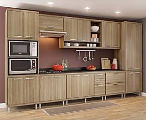 Multimóveis Cozinha Completa 9 Peças Sicília S16T Multimóveis Argila