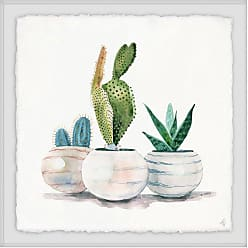 Marmont Hill Cacti in Round Pots Wall Art - MH-JULNAR-66-WFPFL-12
