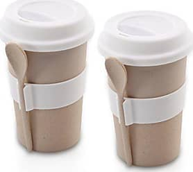 Berghoff 2 Piece CooknCo Coffee Mug with Spoon, Cream
