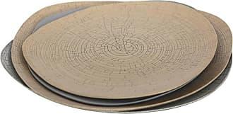 1stdibs Rina Menardi Handmade Ceramic Crackled Triangular Bowls And Plate