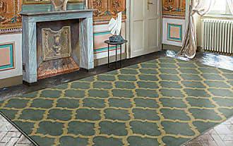 Ottomanson Royal Collection Contemporary Moroccan Trellis Design Area Rug, 710 X 910, Seafoam