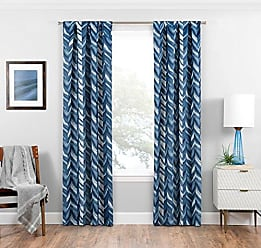 Ellery Homestyles Eclipse 16429037063IND Haley 37-Inch by 63-Inch Single Room Darkening Window Curtain Panel, Indigo