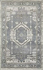 L.R. Resources Inc. MATRI81154GYS5272 Matrix LR81154-GYS5272 Frost Gray/Silver Rectangle 5 x 7 ft 2 in Indoor Area Rug, 52 x 72