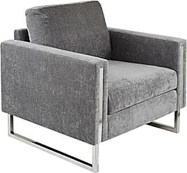 Ink + Ivy Ink+Ivy II100-0291 Madden Accent Chair, 33.25 W x 31.0 D x30.5 H, Grey