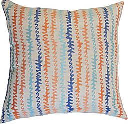 The Pillow Collection Malu Zigzag Bedding Sham Harvest Standard/20 x 26