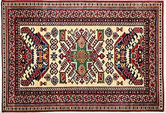 Solo Rugs Shirvan Hand Knotted Area Rug, 4 4 x 6 1, Red