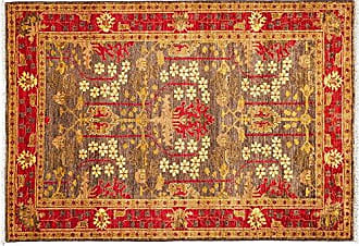 Solo Rugs Arts & Crafts Hand Knotted Area Rug 4 3 x 6 0 Brown