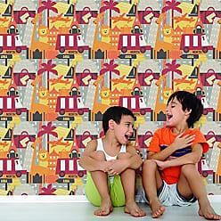 Portodesign Papel de Parede Vinílico Rolo Young@Home YH17925 Porto Design Colorido