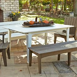 UWharrie Chair Uwharrie Hourglass 69-in. Rectangle Patio Dining Table