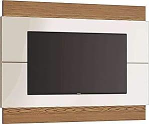 Imcal Painel Para TV 60 Polegadas Classic II Off White com Freijó Touch