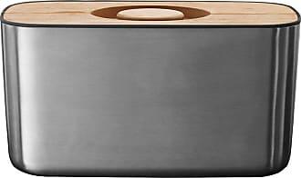 Joseph Joseph Bread Box 100 - Stainless Steel/Bamboo