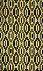 Momeni Rugs HABITHB-16GRN5080 Habitat Collection, 100% Wool Hand Tufted Transitional Area Rug, 5 x 8, Green