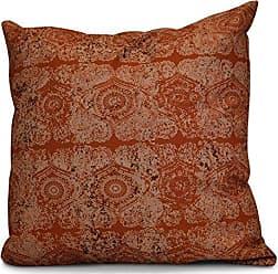 E by Design E by design O5PGN725OR16-16 Printed Outdoor Pillow