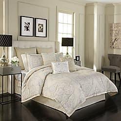 Ellery Homestyles Beautyrest Pemberley 4-Piece Comforter Set, King, Beige