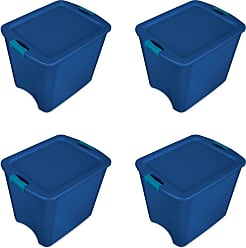 meori Medium Azure Blue 2-Pack Pantry Clever Containers Closet Nursery Linens Farmers Market Foldable Box