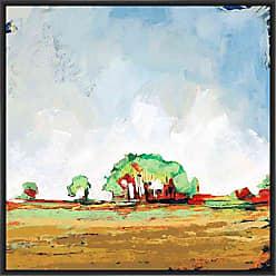 Ptm Images 9-13695 Vibrant Horizon II, Canvas Wall Art, Black