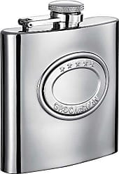Visol Products Visol5 Stars Stainless Steel Hip Flask, 6-Ounce, Chrome