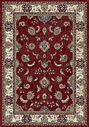 Dynamic Rugs AN46571581464 Ancient Garden Collection Area Rug 311 x 57 Red/Ivory