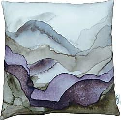 Moe's WOYBR TS-1011-37 Mountains Velvet Cushion W/Feather Insert