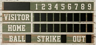 StyleCraft Wooden Scoreboard Wall Sign - WI52445DS