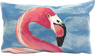 Liora Manne Flamingo 20 x 12 Indoor/Outdoor Pillow - 7SC1S431204