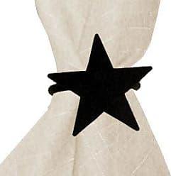 Village Wrought Iron 2.06 Inch Star Napkin Ring