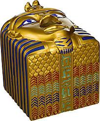 Design Toscano Tissue Box Cover - King Ah-Ah-Choo Egyptian Tissue Box Holder - Toilet Tissue Box