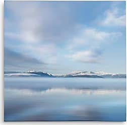 WEXFORD HOME Mirrored Sunrise Gallery Wrapped Canvas Wall Art, 32x32