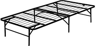 Furinno FB001T Angeland Mattress Foundation Platform Metal Bed Frame, Twin