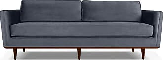 SOUTH CONE Carl Velvet Sofa Espresso - CARLSOVEL72/ESPRESS
