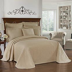 Ellery Homestyles HISTORIC CHARLESTON Bedspreads Coverlet-King Charles Collection 120 x 114 Size 100% Cotton Oversized Matelasse Bed Spread, King/Cal King, Birch
