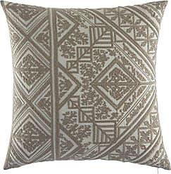 Revman International Azalea Skye Seline Throw Pillow, 20x20, Dark Beige