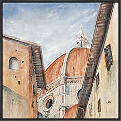 Ptm Images 9-13497 II Duomo DI Firenze, Canvas Wall Art, Black