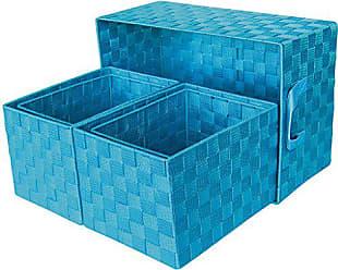 Laroom Set 3/K/örbe 3/St/ück blau
