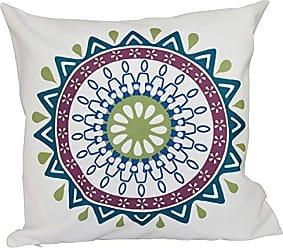 E by Design E by design O5PGN548BL38GR17-16 Printed Outdoor Pillow