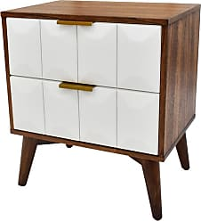 222 Fifth Ginny 2 Drawer Nightstand - 7097WH004A1P88