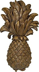 Hickory Manor House Pineapple Wall Plaque, Tarnished Gold