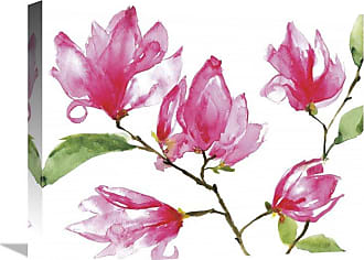 Global Gallery Bright Magnolias Canvas Wall Art - GCS-473861-2228-142