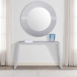 Whiteline Emily Wall Mirror - 47 diam. - MR1401-GRY