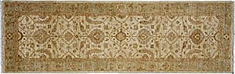 Solo Rugs Oushak Hand Knotted Runner Rug, 2 6 x 8 0, Beige