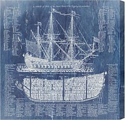 Hatcher & Ethan Hatcher and Ethan Ship Vocabulary and Terms Canvas Wall Art - HE11510_16X16_CANV_XHD_HE