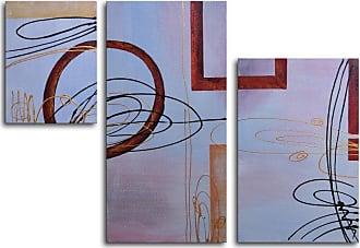 Omax Decor Empty Frames 3-Piece Canvas Wall Art - 44W x 32H in. - M 2032
