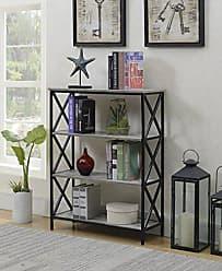 Convenience Concepts 161844C1 4-Tier Bookcase, Faux Birch